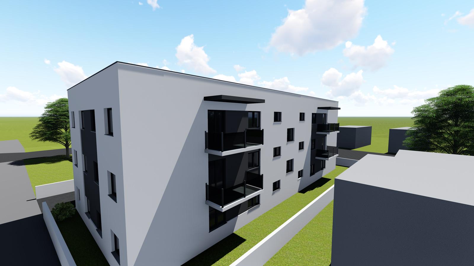 Višestambena zgrada u Sračincu